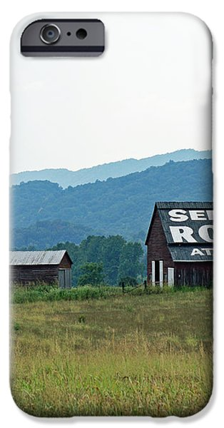 Tennessee Barn iPhone Case by Roger Potts