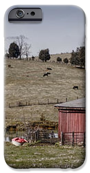 Tennessee Farmstead iPhone Case by Heather Applegate