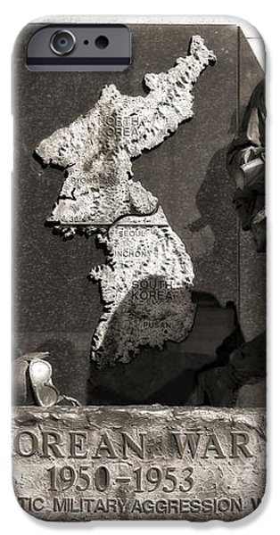Tennessee Korean War Memorial iPhone Case by Dan Sproul
