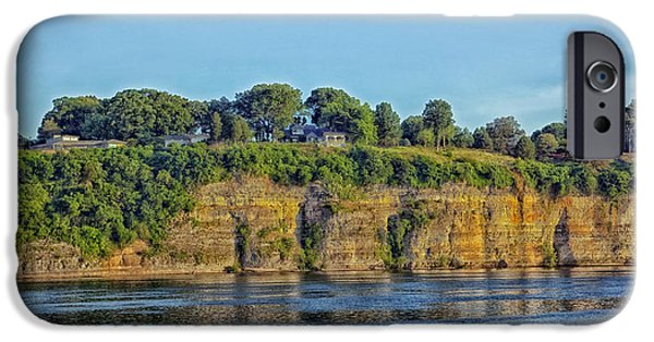 Tennessee River iPhone Cases - Tennessee River Cliffs iPhone Case by Mountain Dreams