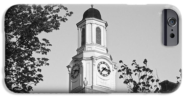 Technical Photographs iPhone Cases - Tennessee Tech University Derryberry Hall iPhone Case by University Icons