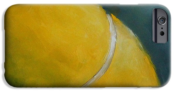 French Open iPhone Cases - Tennis Ball iPhone Case by Kristine Kainer