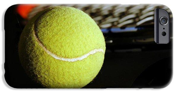 Wimbledon iPhone Cases - Tennis equipment iPhone Case by Michal Bednarek