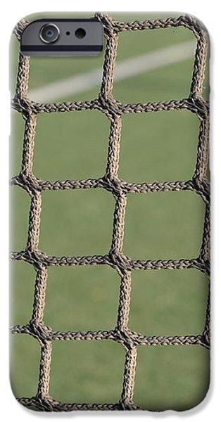 Tennis net iPhone Case by Luis Alvarenga