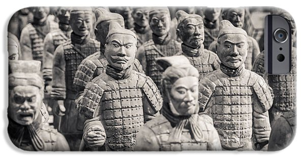 Recently Sold -  - Ruin iPhone Cases - Terracotta Army iPhone Case by Adam Romanowicz