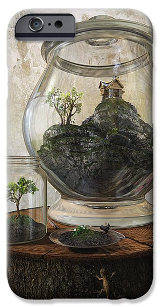 Terrarium iPhone Case by Cynthia Decker