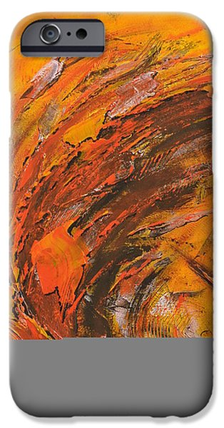 Terres ocres iPhone Case by Thierry Vobmann
