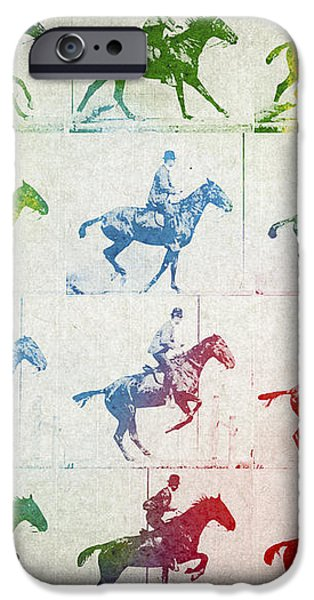 Terrestrial locomotion iPhone Case by Aged Pixel