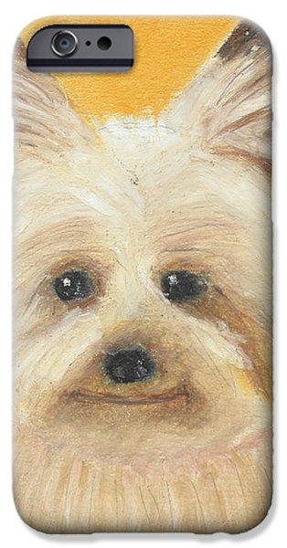 Terrier iPhone Case by Jeanne Fischer