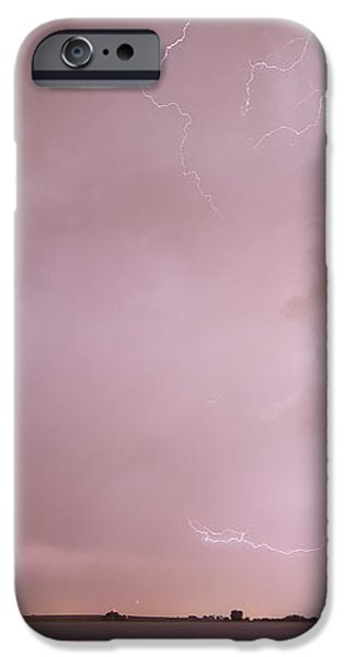 Terry Lake Lightning Thunderstorm iPhone Case by James BO  Insogna