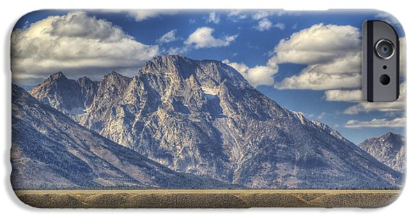 Beauty Mark iPhone Cases - Teton Glory iPhone Case by Mark Kiver
