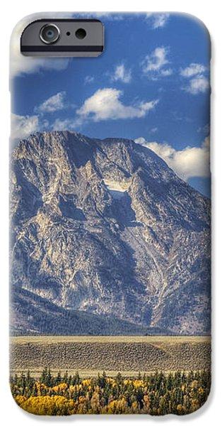 Teton Glory iPhone Case by Mark Kiver