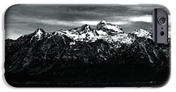 Little Girl iPhone Cases - Teton Mountain Range Wyoming iPhone Case by Meghan  Simpson