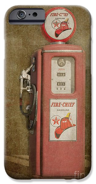 Texaco Fire Chief iPhone Case by Bob and Nancy Kendrick