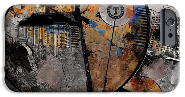 Arlington iPhone Cases - Texas - B iPhone Case by Corporate Art Task Force