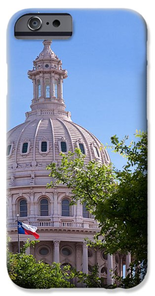 Politician iPhone Cases - Texas Capital Dome iPhone Case by David and Carol Kelly