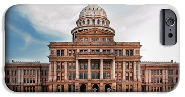 Politician iPhone Cases - Texas Government iPhone Case by David and Carol Kelly