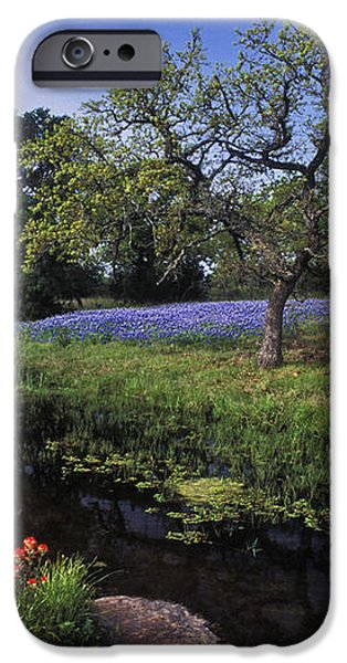 Texas Hill Country - FS000056 iPhone Case by Daniel Dempster
