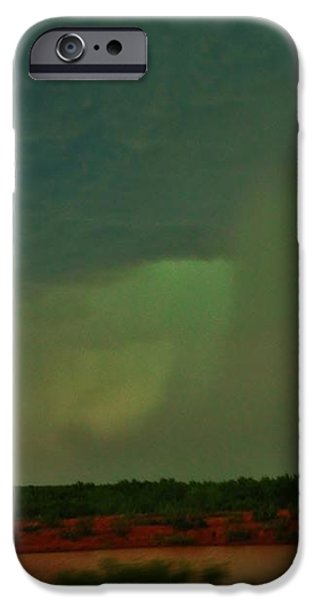 Texas Microburst iPhone Case by Ed Sweeney