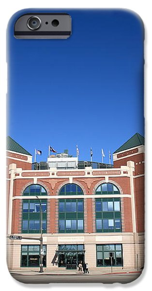 Texas Rangers Ballpark in Arlington iPhone Case by Frank Romeo