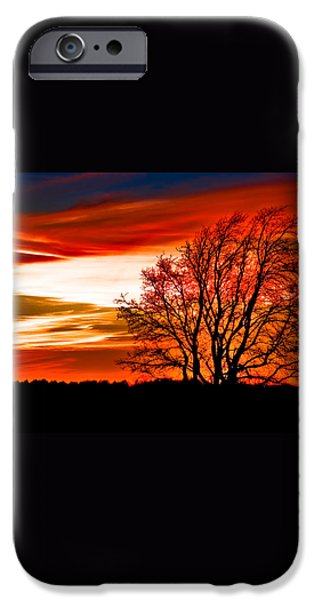 Texas Sunset iPhone Case by Darryl Dalton