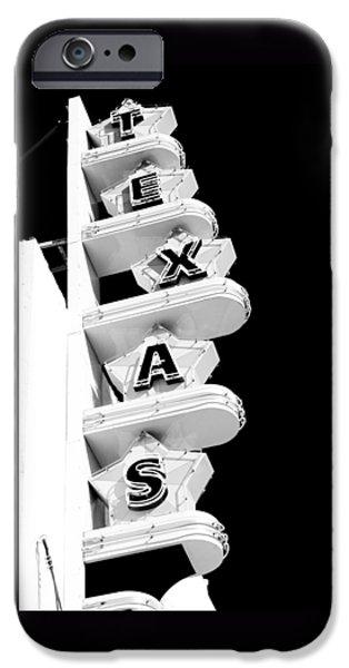 Texas Theater iPhone Case by Darryl Dalton