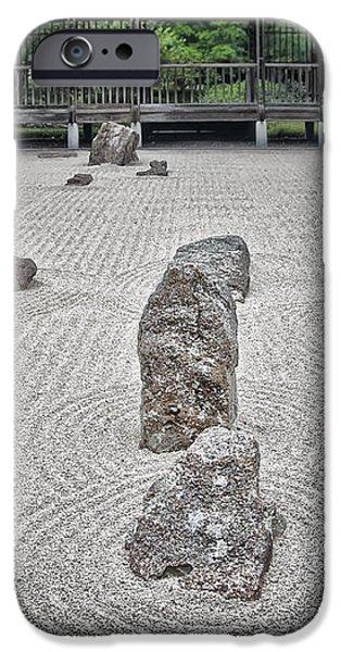 Texas Zen iPhone Case by Joan Carroll