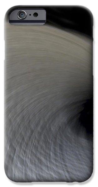 Textured Vortex iPhone Case by Sean Davey