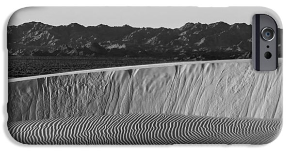 Sand Dunes iPhone Cases - Textures of Dune iPhone Case by Peter Tellone