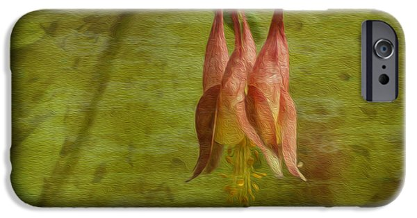 Painter Photo Digital Art iPhone Cases - Textures of Nature 2 iPhone Case by Jack Zulli