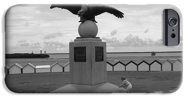 Sea Platform iPhone Cases - Tha Eagle And The Child iPhone Case by Aidan Moran