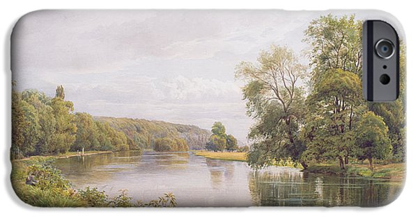 River View iPhone Cases - Thames iPhone Case by William Bradley