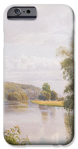 Thames iPhone Case by William Bradley