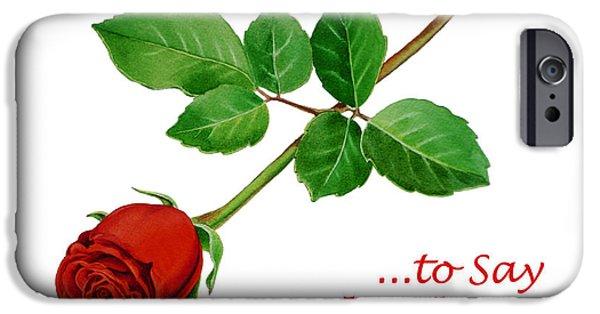 Flower Of Life iPhone Cases - Thank You Card   iPhone Case by Irina Sztukowski