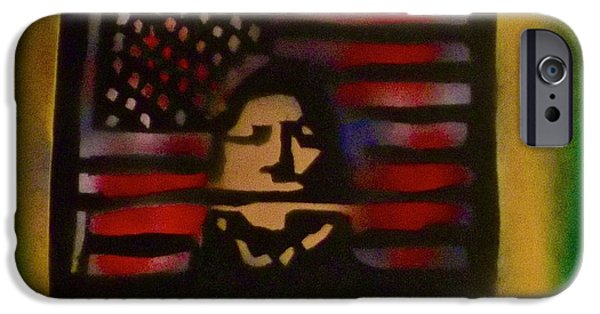 American Conservative Party iPhone Cases - Thanks Taking 1 iPhone Case by Tony B Conscious