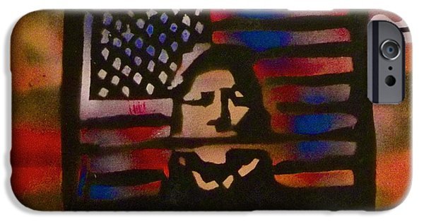 American Conservative Party iPhone Cases - Thanks Taking 2 iPhone Case by Tony B Conscious