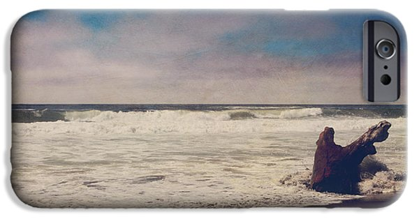 Seaside Digital Art iPhone Cases - That Dirty Game Recaptures Me iPhone Case by Laurie Search