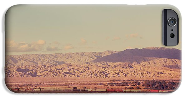 Train iPhone Cases - That Side of the Tracks iPhone Case by Laurie Search