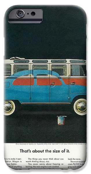 Old Bus Stations iPhone Cases - Thats About The Size Of It iPhone Case by Nomad Art And  Design