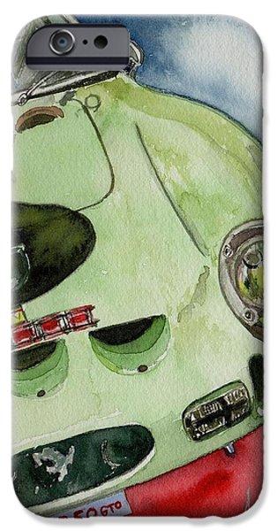 Ferrari 250 Gto iPhone Cases - The 1962 Ferrari 250 GTO was built for Sir Stirling Moss iPhone Case by Anna Ruzsan