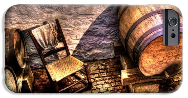 Winetasting iPhone Cases - The Ale Cellar Seat iPhone Case by Dan Stone