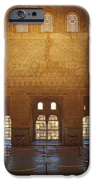 The Alhambra King room iPhone Case by Guido Montanes Castillo