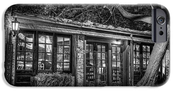 Store Fronts iPhone Cases - The Alley Gallery iPhone Case by Scott Norris