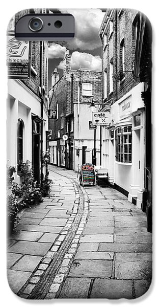 Alley Photographs iPhone Cases - The Alley iPhone Case by Mark Rogan