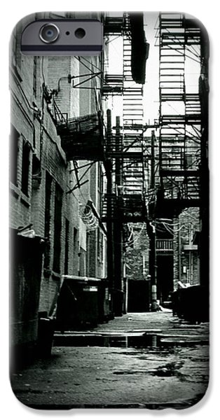 Escape iPhone Cases - The Alleyway iPhone Case by Michelle Calkins
