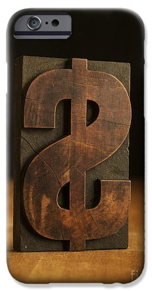 Finance iPhone Cases - The Almighty Dollar iPhone Case by Edward Fielding