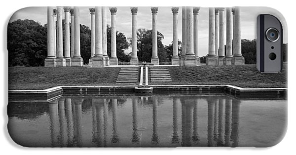 Cora Wandel iPhone Cases - The Almost Forgotten Columns -- 1 iPhone Case by Cora Wandel