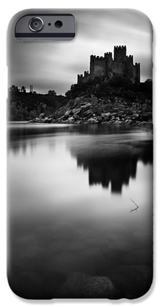 The Almourol castle iPhone Case by Jorge Maia