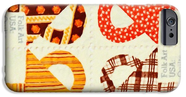 Best Sellers -  - Concept Paintings iPhone Cases - The American Quilts  iPhone Case by Lanjee Chee