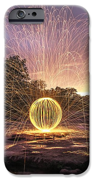 The American River Orb iPhone Case by Lee Harland